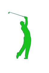 Golf Player Patch
