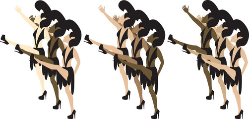 Las Vegas Dancers 3