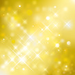 Vector illustration of golden glittering background. (EPS)