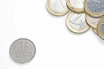 Euro und DM