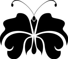 Butterfly tattoo simbol