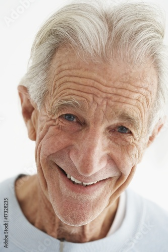Senior Man Smiling