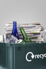 full recycling container