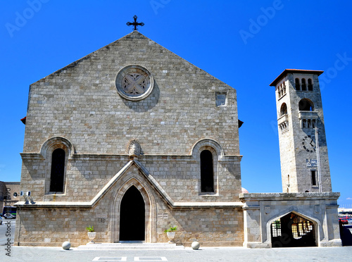 Church of the Annunciation, island of Rhodes, Greece.