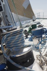 winch on yacht