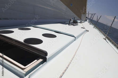 Open Hatch on Yacht