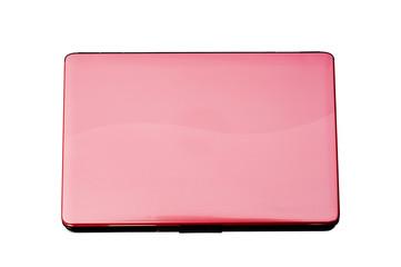 pink laptop