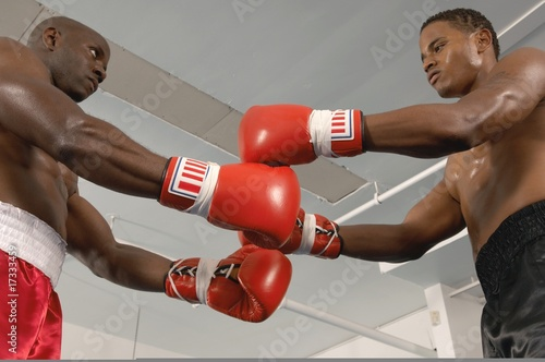 Two Boxers Before Fight