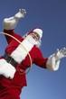 Santa Claus with Hula Hoop