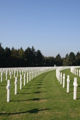 The American Military Cemetery in Luxembourg