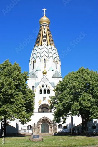 russische ged chtniskirche in leipzig von s alias lizenzfreies foto 17338465 auf. Black Bedroom Furniture Sets. Home Design Ideas