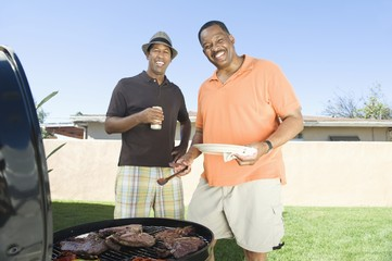 friends at a barbeque