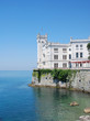 Famous Miramare castle, Trieste, italy