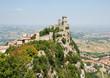 Famous San Marino castle