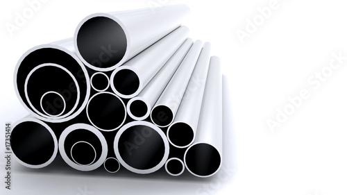 Leinwanddruck Bild Aluminum Tube