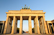 Brandenburger Tor im Morgenlicht