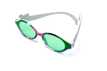 Colorful toy sunglasses