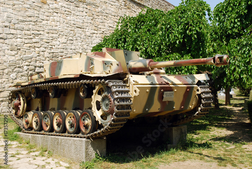 Naklejka Germany tank from WWII