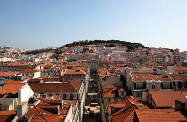 Panoramblick über Lissabon