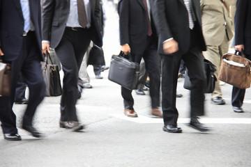 ビジネスマンの通勤