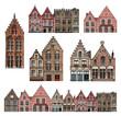 Façades - Bruges