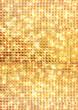 ゴールドのドットの背景