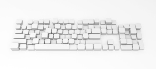 Computer Keyboard, Buttons