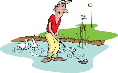 Goofy Golfer 5