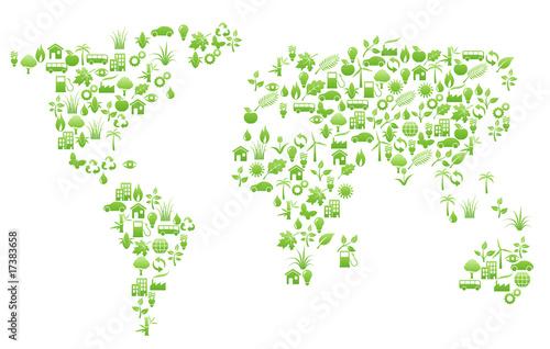 world map - 17383658