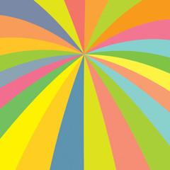 raggi colorati