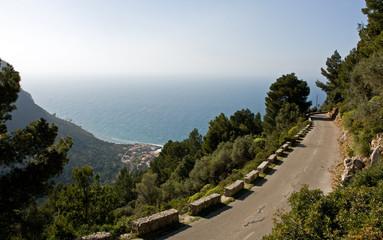 Road to Port de Valldemossa