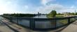 Blick von der Sternbrücke in Magdeburg