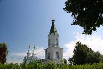 Church and Kremlin in Ryazan - Russian Golden Ring