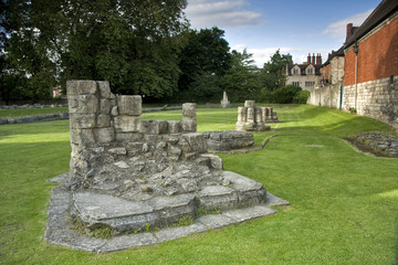 Parque de San Mary«s en la ciudad de York, Reino Unido.