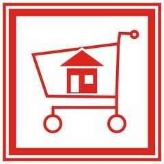 house in the cart