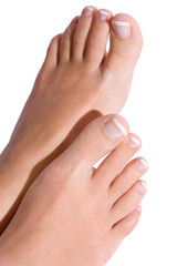 Pedicure isolated