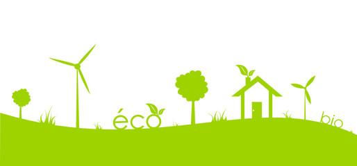 Paysage écologie vert