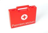 secours pharmacie soin malette aide blessé urgence malade médeci poster