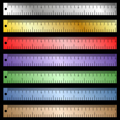 vector rulers