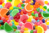 Fototapety Colorful Candy Background