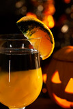 Halloween drinks - Rotten Pumpkin Cocktail poster