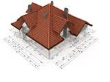 Fototapety Bauplanung - Dachdeckung