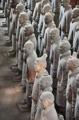 Terracotta army, Xian, China