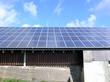 Solarzellen auf Lagerdach