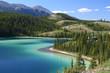 Emerald Lake on South Klondike Highway Yukon Territory