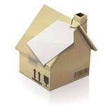 Tarif d'un déménagement d'une maison (reflet)
