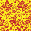 Floral background pattern(seamless)