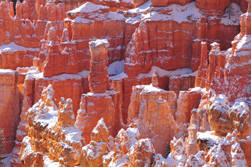 Pinnacles and Hoodoos in Bryce Canyon National Park