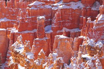Pinnacles and Hoodoos in Bryce Canyon National Park