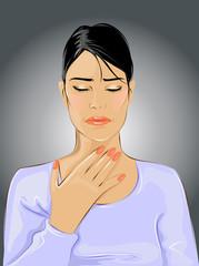 Throat ache